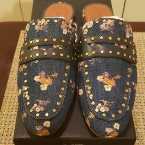 coach loafer slide
